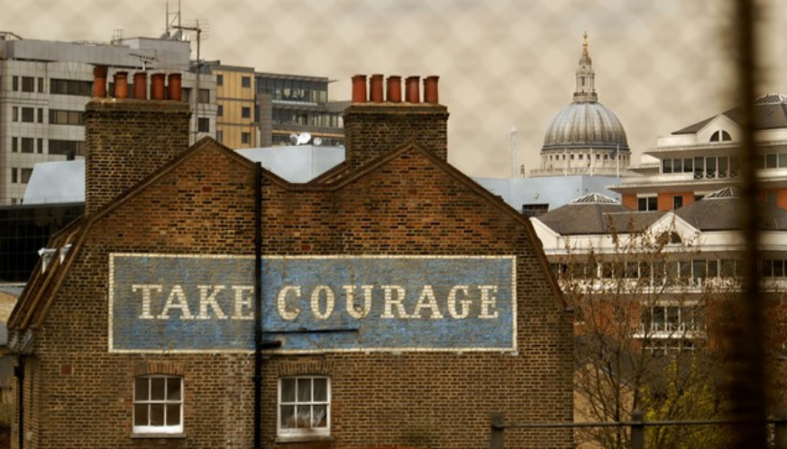 take courage building london